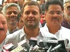 बिहार का जनादेश आरएसएस और नरेंद्र मोदी के खिलाफ : राहुल गांधी