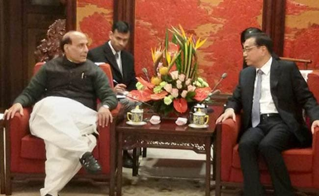 Rajnath Singh Conveys India's Concerns Over Border Incursions to Chinese Premier