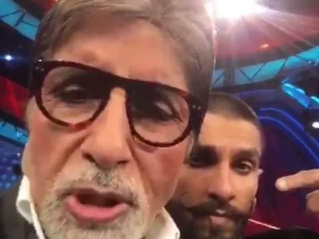 Ranveer Singh's Bajirao Line by Amitabh Bachchan in 'Epic' Dubsmash