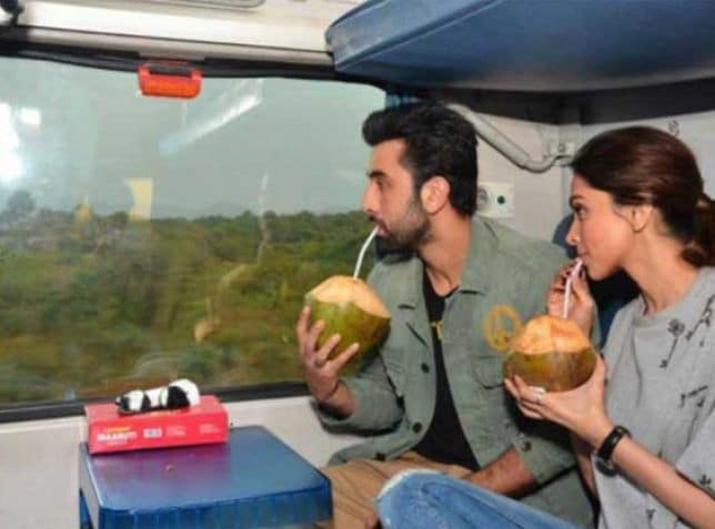 Deepika's First Time in First Class. Discoveries Aboard a Rail Gaadi