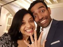 युवी के बाद अब विस्फोटक बल्लेबाज रॉबिन उथप्पा ने गर्लफ्रेंड से की सगाई, देखें तस्वीरें