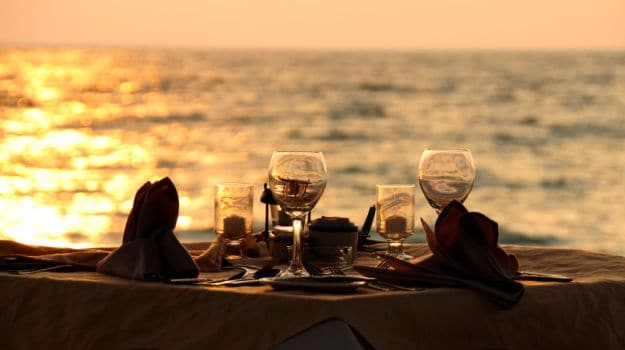 top 10 romantic restaurants for candle light dinner in mumbai ndtv