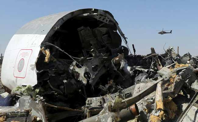 Islamic State Group Says Bomb Downed Russian Plane