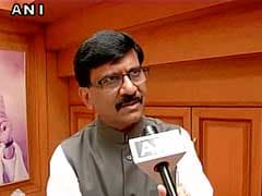 Shiv Sena Worker Throws Ink At Party Lawmaker Sanjay Raut