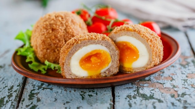 British scotch eggs
