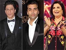 Shah Rukh Khan's Friends Karan Johar, Farah Khan Are 'Wannabe Actors'