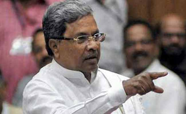 Siddaramaiah Slams Minister RS Prasad For Remarks On Journalist's Murder