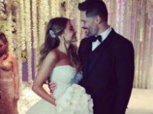 Just Married. Sofia Vergara, Joe Manganiello Say 'I Will'