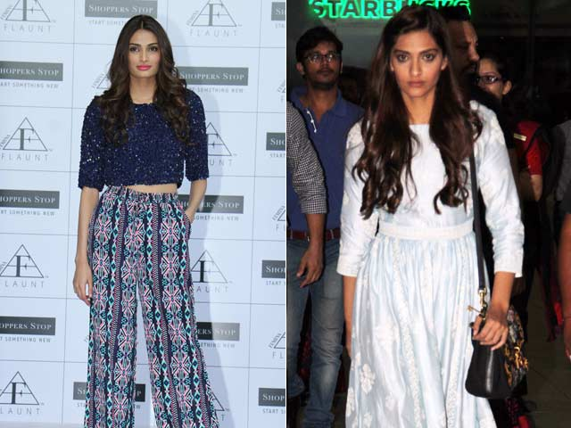 Sonam Kapoor is the Best Style Icon in Bollywood, Says Athiya Shetty