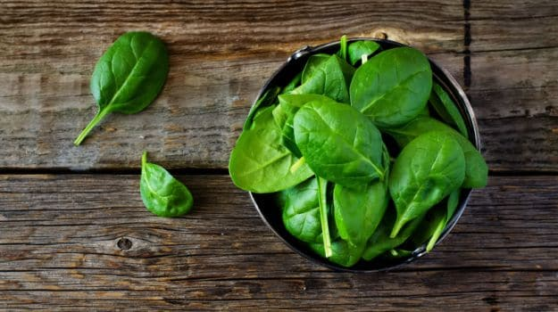Green Leafy Veggies - Vitamin A Rich Foods