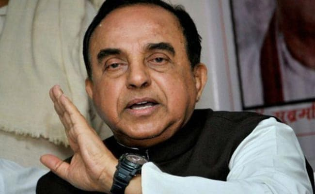 Tipu Sultan Had No Qualities Worth Celebrating, Says Subramanian Swamy