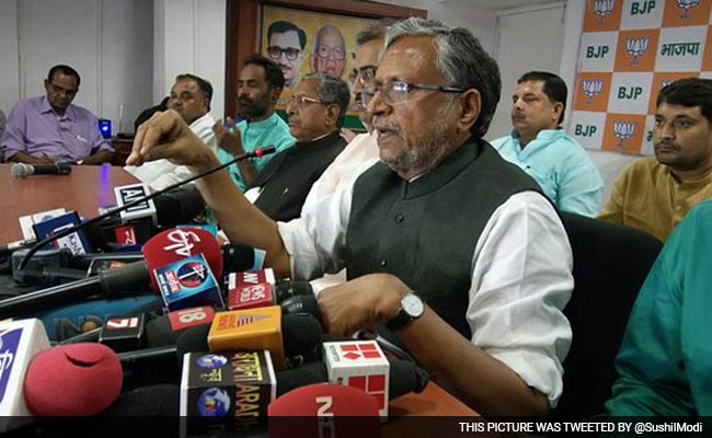 Strong Social Combination Led to Grand Alliance Victory: Sushil Modi