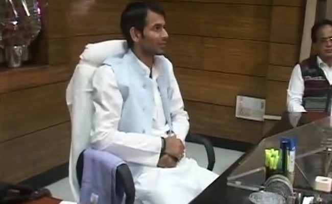 Tej Pratap Yadav Got 13 Acres As Gift When He Was 3, Says BJP Leader Sushil Modi