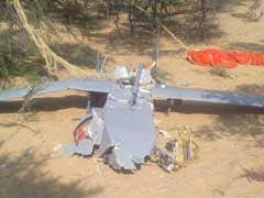 पोखरण में सेना का मानव रहित विमान दुर्घटनाग्रस्त