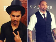 Varun Dhawan is no '<I>Darpok</i>,' Dave Bautista. He Accepts Your Challenge