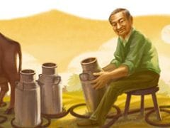 Verghese Kurien on Google Doodle for National Milk Day