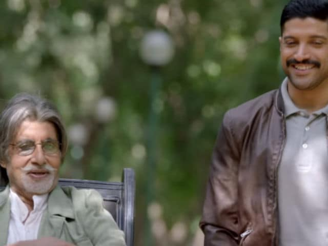 Amitabh Bachchan, Farhan Akhtar Had 'Long Conversations About Deewar'