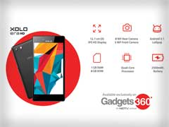 NDTV's Gadgets 360 Sells Out Entire Stock of Xolo Era HD in a Few Hours