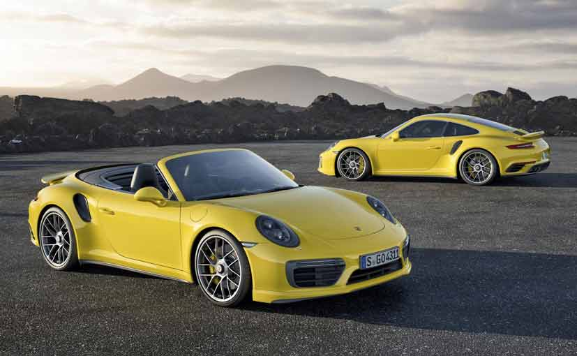 2017 Porsche 911 Turbo and Turbo S Unveiled