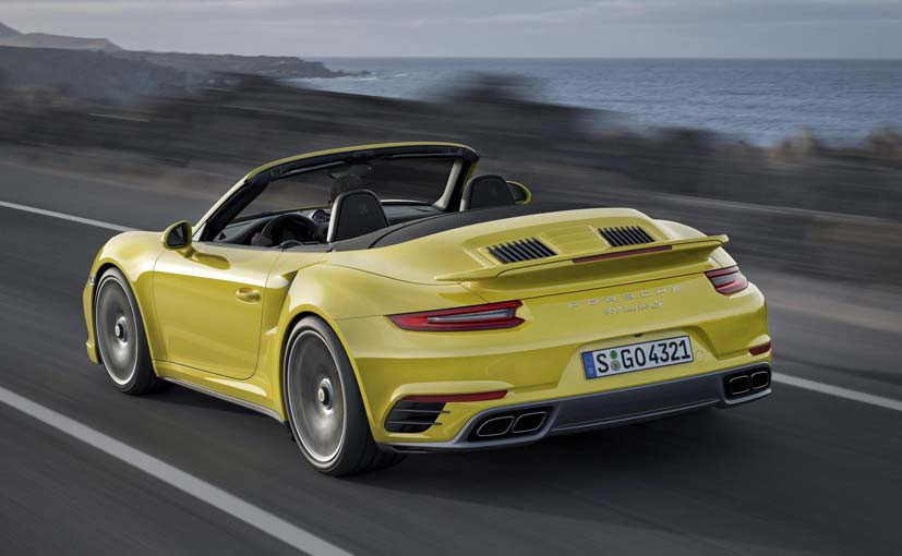 2017 Porsche 911 Turbo Convertible