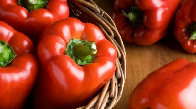 Red Bell Pepper - Vitamin A Rich Foods