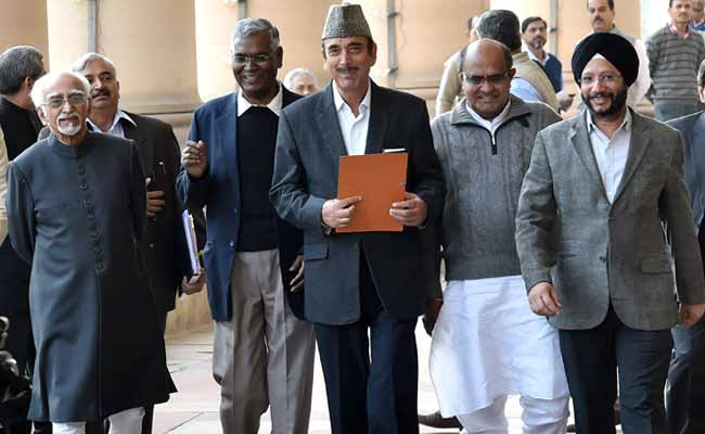 Truce In Parliament But No GST After All Party Meet