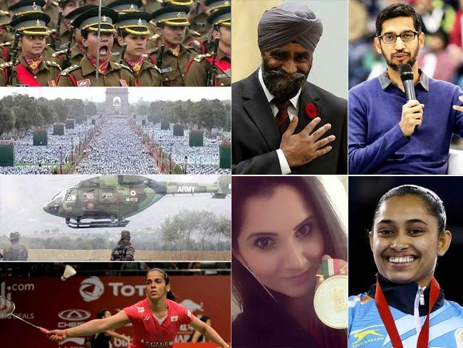 सेना के साहस, नारी शक्ति, योग की पहचान और भारतवंशियों की उपलब्धियों पर गर्व का वर्ष