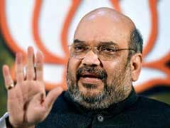 BJP Chief Amit Shah Holds Interaction With Rajasthan Ministers
