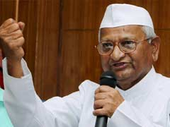 Anna Hazare Says He Will Step In if Centre Obstructs Delhi Jan Lokpal Bill