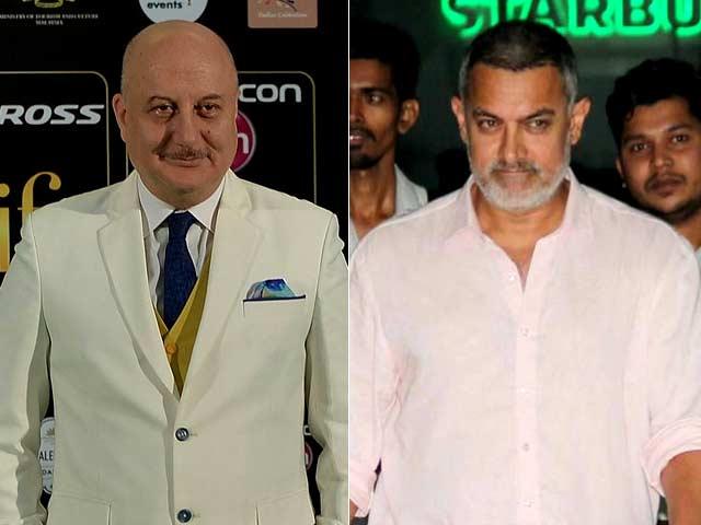Anupam Kher 'Would Like to Believe' Aamir Khan is a 'Very Dear Friend'