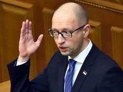 Ukraine Declines To Pay $3 Billion Debt To Russia: PM Arseniy Yatsenyuk