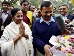 Arvind Kejriwal, Mamata Banerjee Meet in Delhi
