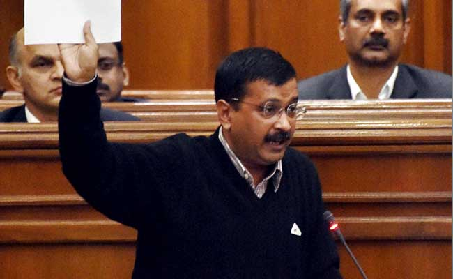 Arvind Kejriwal Attacks Lt Governor, Says He Is 'Saving His Political Bosses'
