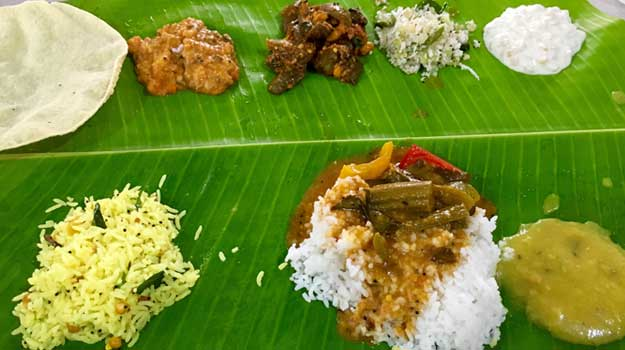 The big fat tamil brahmin feast fit for a king ndtv food for Aharam traditional cuisine of tamil nadu
