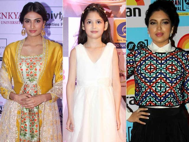 For Best Actress Debut Award, It's Harshaali vs Bhumi, Athiya