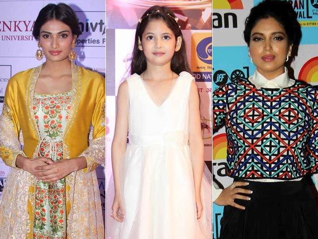 For Best Actress Debut Award, It's Harshaali vs Bhumi, Athiya
