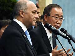 UN Chief Urges Climate Envoys To Take 'Final Decision For Humanity' in Paris