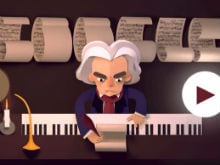 Ludwig van Beethoven is Today's Google Doodle. There's a Challenge Too