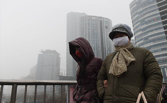 Heavy Smog Alerts For Beijing, Several Chinese Cities