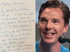 Benedict Cumberbatch's Wonderful Letter to Santa That Went Viral