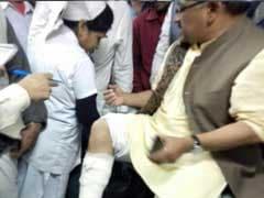 BJP's Siddharth Nath Singh Injured In Clash With Police Near Kolkata