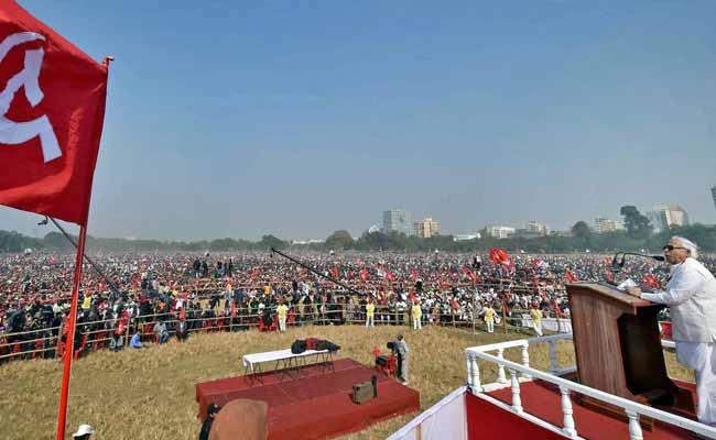 CPI-M's Brigade Rally In Kolkata Was Devoid Of Crowd, Says Trinamool