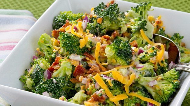 Lentil and Charred Broccoli Chaat