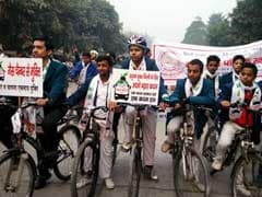 Third Car-Free Day Held In Delhi Today