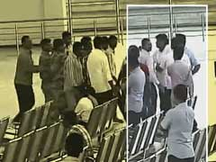 Caught On Camera: Andhra Pradesh Lawmaker Manhandles Airport Manager