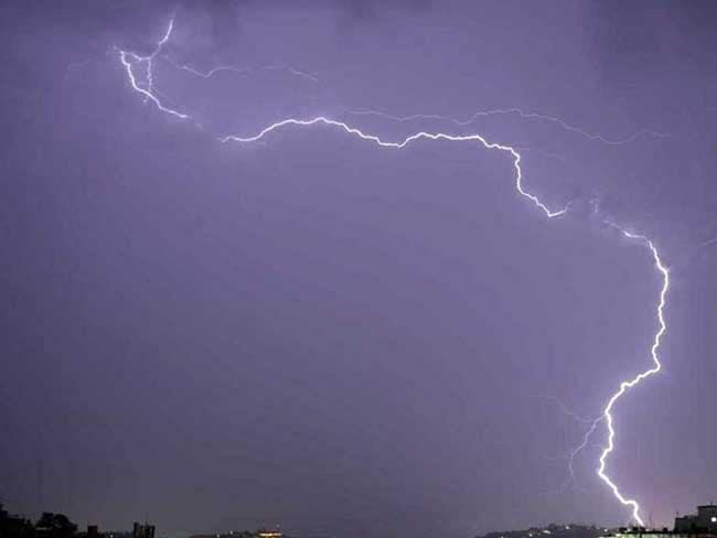 आकाशीय बिजली गिरने से दो लड़कों ने गवाई जान