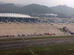 चेन्नई में हवाई अड्डे पर इंडिगो की यात्रियों से भरी बस में लगी आग