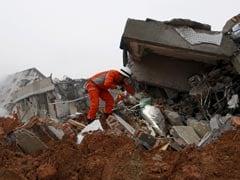 91 Missing After Landslide Devastates Chinese Industrial Park