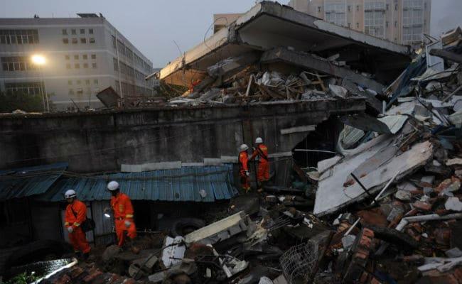 चीन में जमीन धंसने से 33 से ज्यादा इमारतें ज़मींदोज़, जमीन में जिंदा दफ़न हो गए लोग