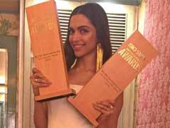सबसे ज्यादा मनोरंजन के लिए सलमान ख़ान और दीपिका पादुकोण ने अवार्ड जीते